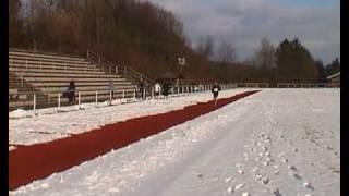 Winterbahnlauf Wetter