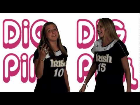 Notre Dame Volleyball - Dig Pink Karaoke (Oct. 22)