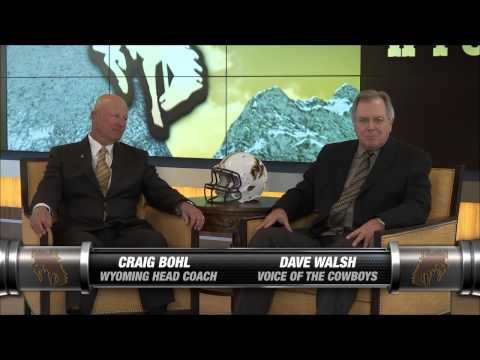 Inside Wyoming Football with Craig Bohl (9.10.15)