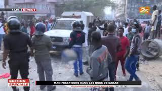 🔴URGENT-MÉDINA: ÉMOUVANTE PAIX RETROUVÉE ENTRE POLICIERS ET MANIFESTANTS APRÈS UNE JOURNÉE VIOLENTE