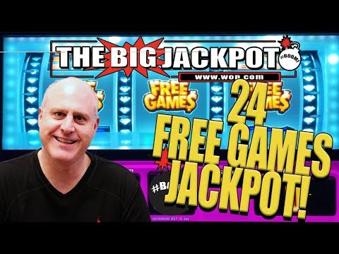?DOUBLE DIAMOND! ?24 FREE GAMES REEL JACKPOT with SURPRISE CELEBRITY SHOUTOUT! - The Big Jackpot - 동영상