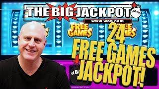 💎DOUBLE DIAMOND! 💎24 FREE GAMES REEL JACKPOT with SURPRISE CELEBRITY SHOUTOUT! | The Big Jackpot