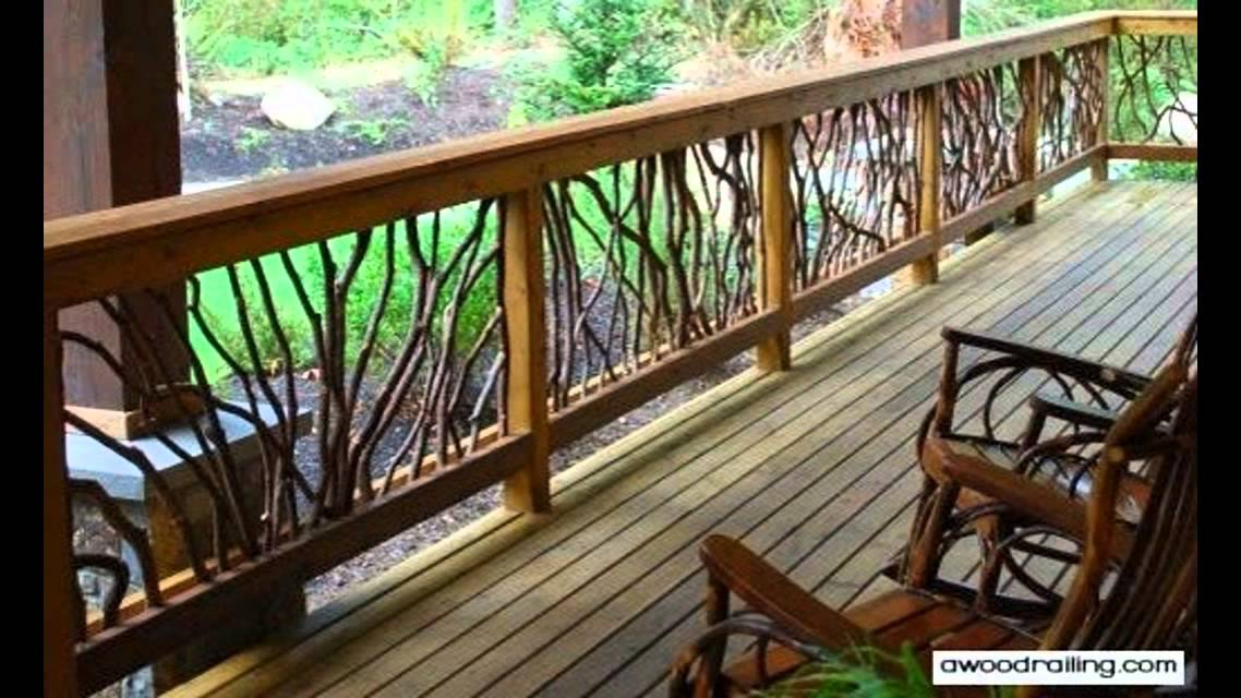 best deck railing designs new for