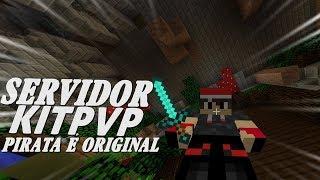 Novo Servidor DE Minecraft PvP - Pirata e Original 1.8!
