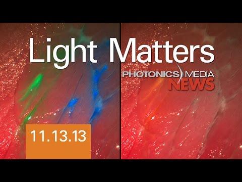 Tumor Detection & Deep Solar - LIGHT MATTERS 11.13.2013