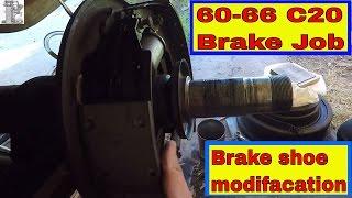 1963 Chevy C20 Truck Heavy Duty Drum Brake Modification