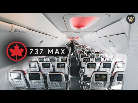 Air Canada 737 MAX Business & Economy