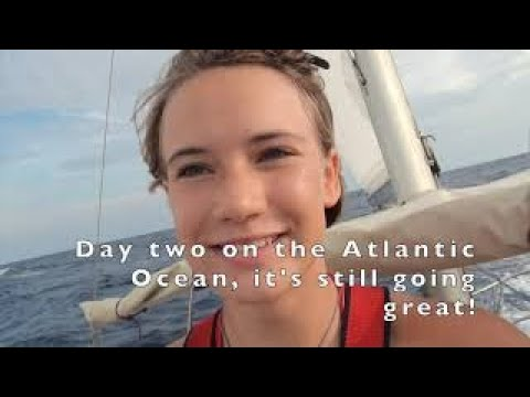 Part 1/8: Canary Islands-St.Maarten.Laura Dekker, youngest to sail around the world singlehandedly