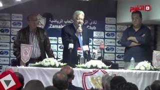 مرتضى منصور: «مش هحط فلوس في البنك.. عشان ممدوح عباس ميحجزش عليها» (فيديو)
