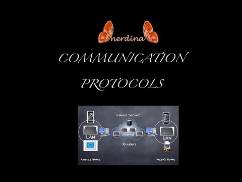Communication Protocols Explained Using Email Example