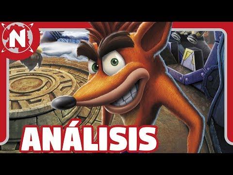 ¿VALE LA PENA Crash Bandicoot N. Sane Trilogy en Switch?