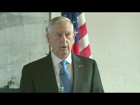 Mattis On Humanitarian Cease Fire Proposal For Syria - Full News Conference