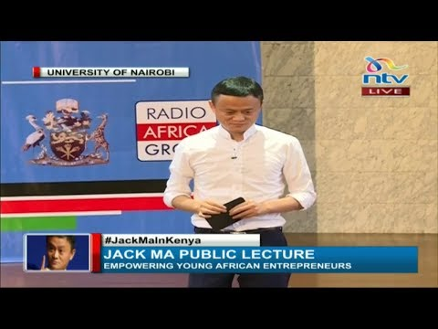 Jack Ma talks about personal Failure, Rejection, Money, Success at Kenya Univerisity