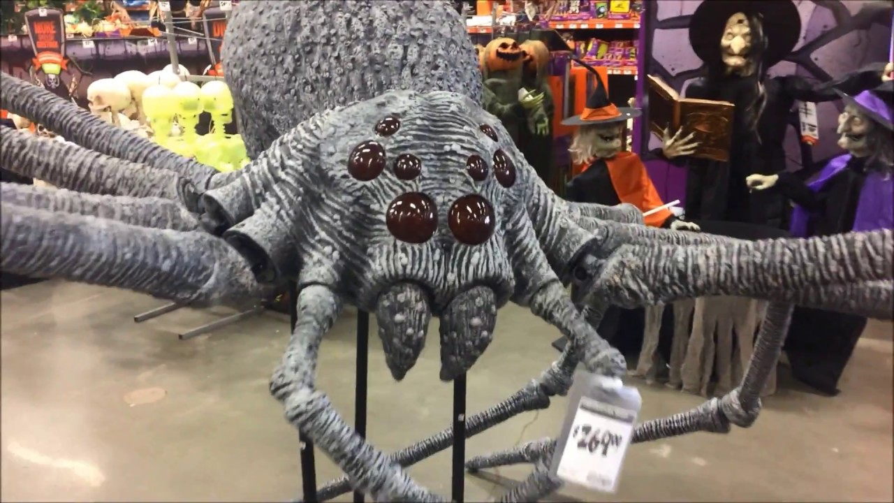 Halloween decorations home depot 2017 in store merchandise for Home depot halloween decorations