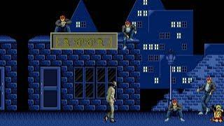[Full GamePlay] Michael Jackson's Moonẁalker (Hard Mode) [Sega MegaDrive/Genesis]