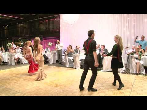 Arabic Vs Irish Dance Off