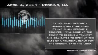 Prophecy: April 4th, 2007 — Redding, CA — Media, Time, Newsweek, Trump, Gates