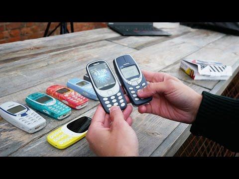 топ-5 фишек новой Nokia 3310 (2017)