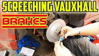 Vauxhall Signum Rear Brąkes And Discs - Screeching Sound