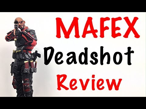 MAFEX Medicom Toy Suicide Squad DEADSHOT Action Figure Review Toy Review