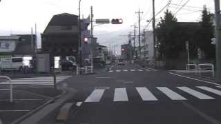 葛飾⇒千葉スタンド Traffic situation around the commuter town of Tokyo