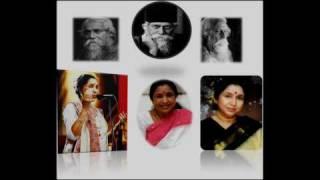 Jogote Anondo - Asha Bhosle Rabindra Sangeet