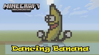 Minecraft: Pixel Art Tutorial and Showcase: Dancing Banana