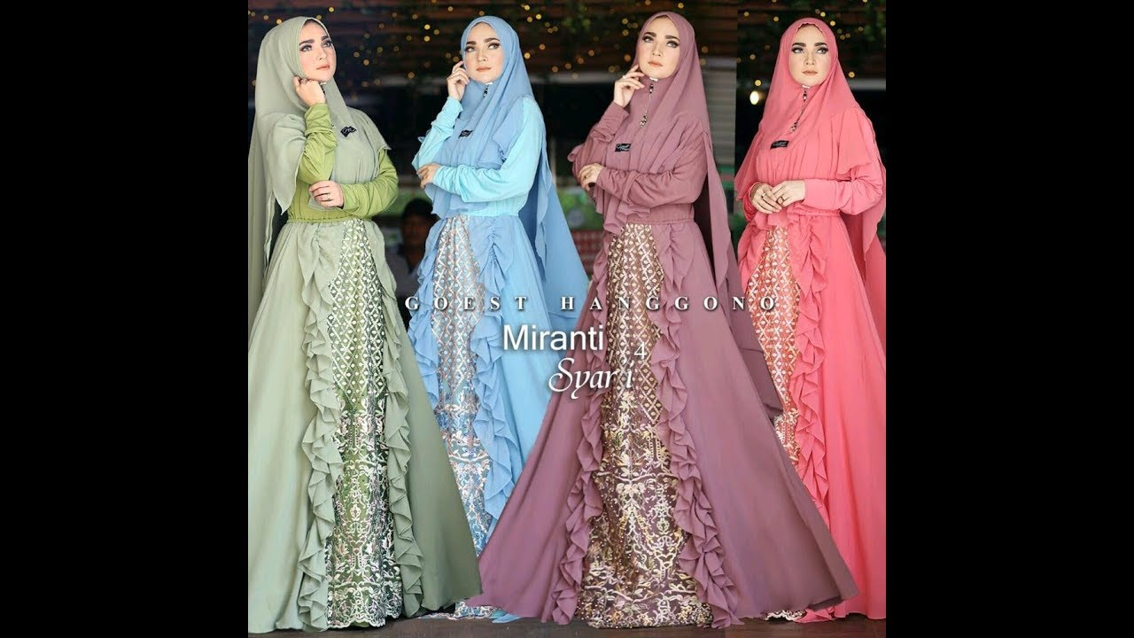 Grosir Gamis Pesta Modern Remaja Wa 62 831 0413 1538 Gamis Hijab