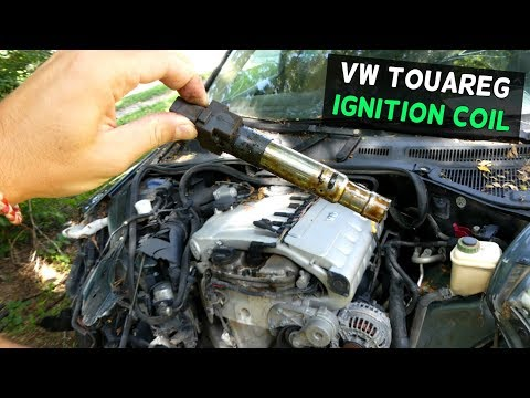HOW TO REMOVE AND REPLACE IGNITION COIL ON VW TOUAREG V6