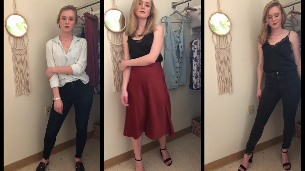 [VIDEO] - Fall Lookbook | Date night + School Outfits! 1