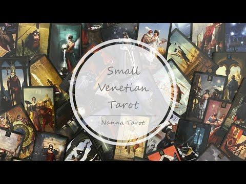 開箱  威尼斯塔羅牌-口袋版 • Small Venetian Tarot // Nanna Tarot