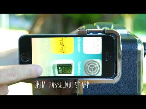 HASSELNUTS World's First Smart Phone Adaptor For Hasselblad V-series (except SWC)