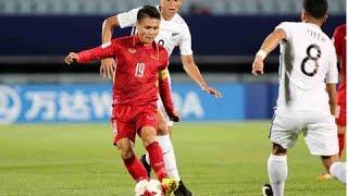 Hai Bàn Thắng Tuyệt Vời Của Olympic Việt Nam Mở Màn Asiad 2018 | Hòa Minzy, Hiếu Hiền