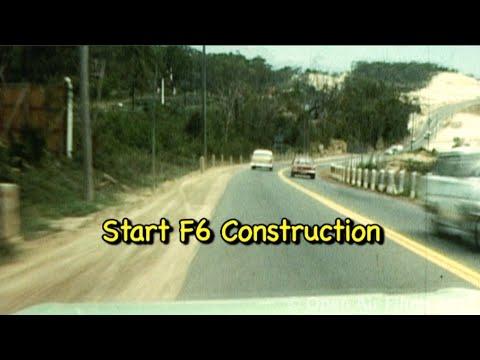 DASH CAM- TIME LAPSE ROAD TRIP 1971 - HD