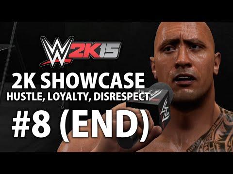 WWE 2K15 (Xbox One) 2K Showcase - Hustle, Loyalty, Disrespect Gameplay Walkthrough Part 8