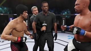 Bruce Lee vs. CJ GTA (EA Sports UFC 2) - CPU vs. CPU