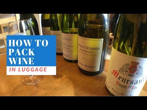 How To Pack Wine In Luggage