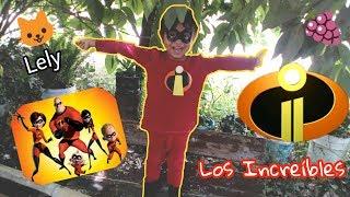Jugamos A Los Superhéroes Con Nuestro Traje De Los Increíbles 2 | Vídeos Para Niños