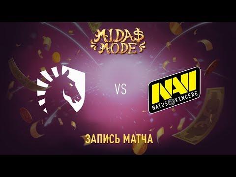 Liquid vs Natus Vincere, Midas Mode, game 2 [Maelstorm, Lum1Sit]