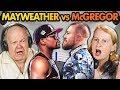 Elders React to Mayweather Vs. McGregor