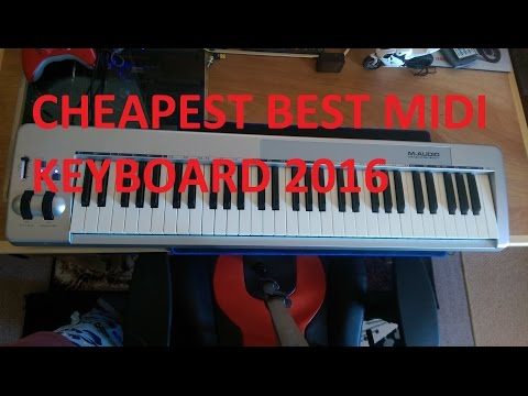 BEST CHEAP MIDI KEYBOARD 2016 - M-AUDIO 61ES