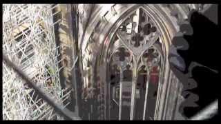Cologne Cathedral. Kölner Dom. Кёльнский собор.(Экскурсия в Кёльнский собор с Людмилой. Октябрь 2004., 2014-09-22T11:10:31.000Z)