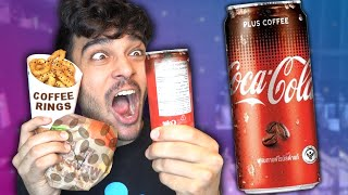 Only Eating COFFEE Flavoured Foods for 24 Hours! (IMPOSSIBLE FOOD CHALLENGE)
