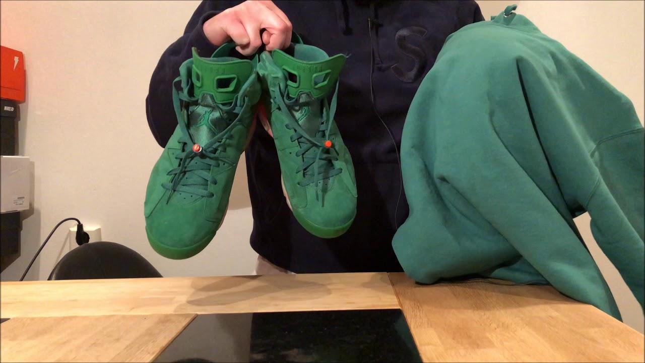Unboxing Supreme Hoodie Corner Label Hooded Sweatshirt Light Pine Green Ss18 Youtube [ 720 x 1280 Pixel ]