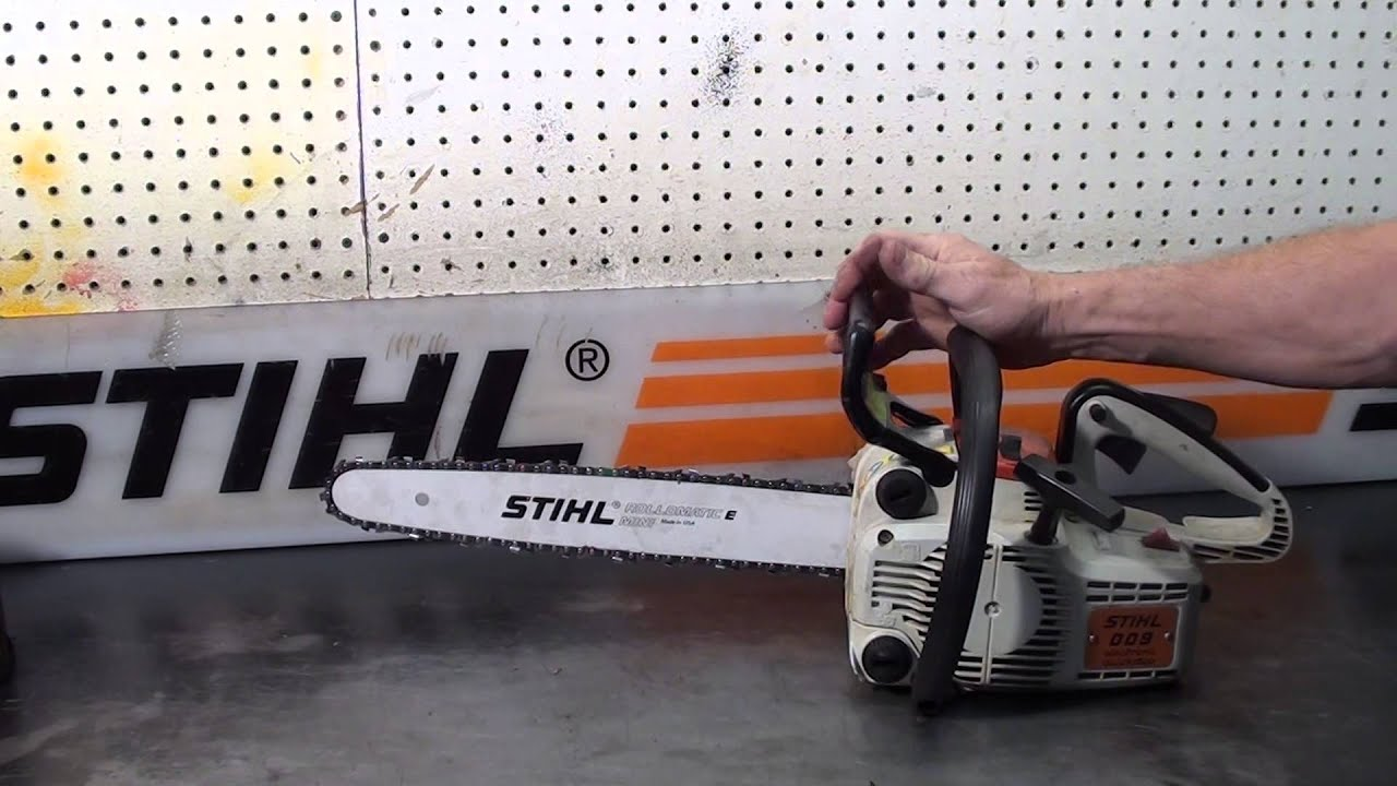 The Chainsaw Guy Shop Talk Stihl 009 6 17 Youtube Parts Diagram Further Carburetor