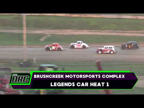 Brushcreek Motorsports Complex | 8/19/17 | Ohio Valley Roofers Legends Car Series | Heats