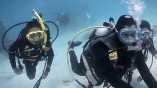 Kids Scuba PADI Jr Open Water Diver Mabul 052013