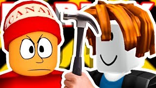 HE DOESN'T KNOW HOW to USE a HAMMER → Roblox funny moments #125 😂🎮 (Roblox Epic Minigames)