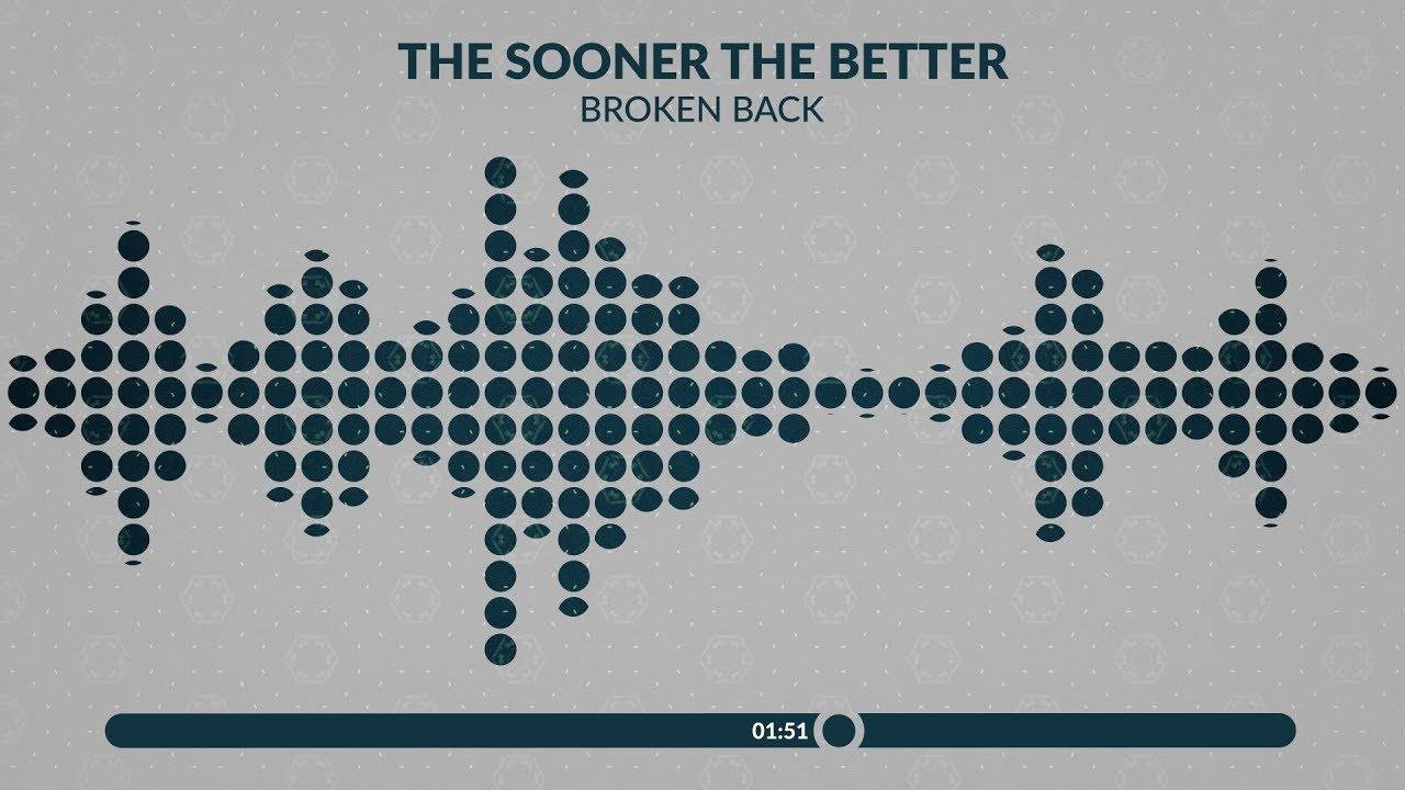 small resolution of broken back the sooner the better