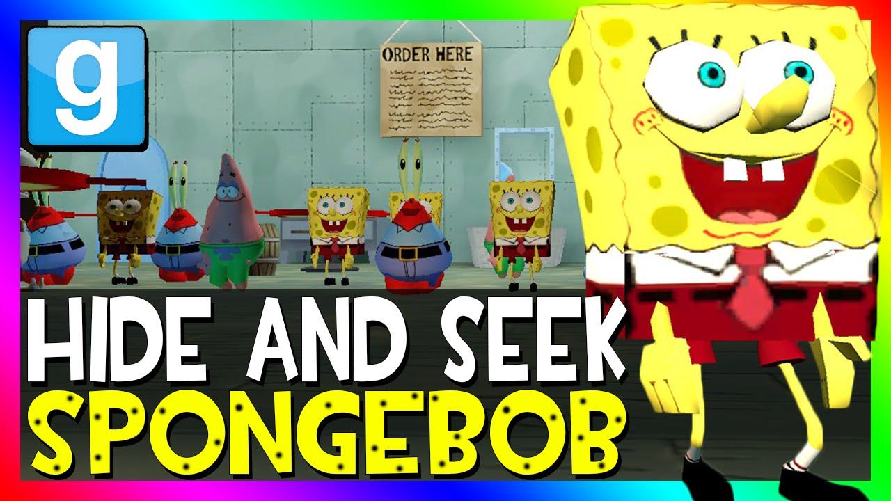garry 39 s mod spongebob hide and seek gmod spongebob mini game youtube. Black Bedroom Furniture Sets. Home Design Ideas